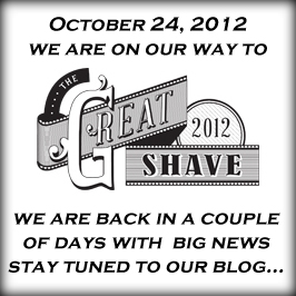 On our way to The Great Shave 2012