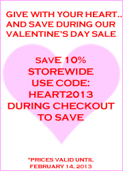 Valentines 2013 Sale