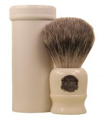Progress Vulfix No. 2190 Pure Badger Travel Brush with Tube