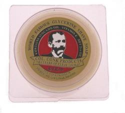 Col Conk Bay Rum Glycerine Shave Soap - small