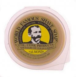 Col Conk Almond Super Bar Shave Soap - large