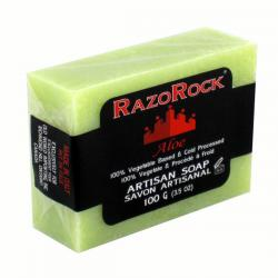 RazoRock Artisan Aloe Bar Soap