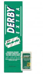 Derby Extra Stainless Double Edge Razor Blades (100 blades)