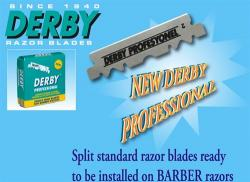 Derby Professional Single Edge Razor Blades (100 blades)