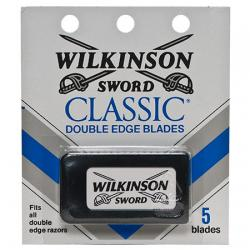 Wilkinson Sword Double Edge Safety Razor Blade - 5 Blades