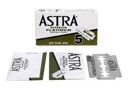 ASTRA Platinum Double Edge safety razor Blade - 5 Blades