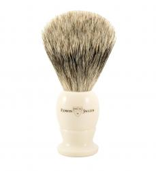 Edwin Jagger Handmade Best Badger English Shaving Brush - Faux Ivory