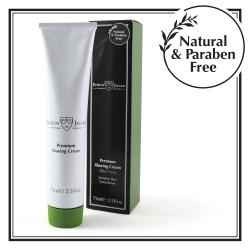 Edwin Jagger Aloe Vera Shaving Cream, Parabens free - 75ml Tube