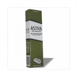 ASTRA Platinum Double Edge safety razor Blade - 100 Blades