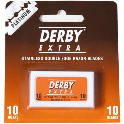 Derby Extra Stainless Double Edge Razor Blades (10 blades)