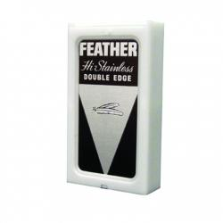 Feather HI-Stainless Platinum Coated Razor Blades (5 blades)