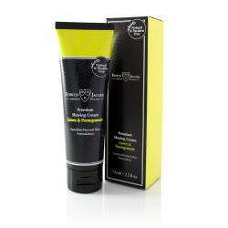 Edwin Jagger Limes and Pomegranate Shaving Cream, Parabens free - 75ml Tube