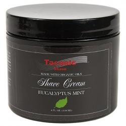 Taconic Shave EUCALYPTUS & MINT Shaving Cream with Organic Oils
