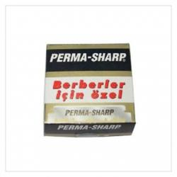 PERMA-SHARP Single Edge Shavette Razor Blades (100 pack)