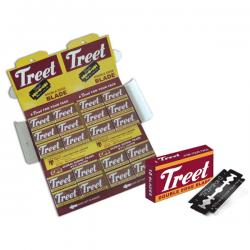 Treet Black (Carbon) Double Edge razor Blades (Pack of 10 Blades)