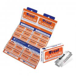 Treet Platinum Super Stainless Double Edge Razor Blades (1 pack of 10 Blades)
