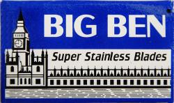 BIG BEN Super Stainless Double Edge Safety Razor Blade - 5 Blades