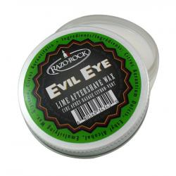 RAZOROCK Aftershave Wax - Evil Eye Lime - Artisan Made & Small Bath