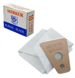 Merkur Mustache Eye Brow Beard Detail Trim Razor Blades (10 pack)