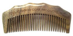 COL CONK LARGE SANDLEWOOD BEARD COMB