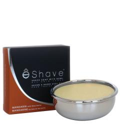 eShave Mandarin Shave Soap with Bowl
