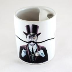 Turn Of The Century Bucardo Mustache Mug
