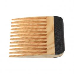 Stick A Comb In It Beard Comb - Ash with Wenge Handle