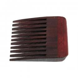 Stick A Comb In It Beard Comb - Walnut with Padauk Handle